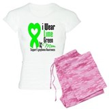Lymphoma Heart Mom Pajamas