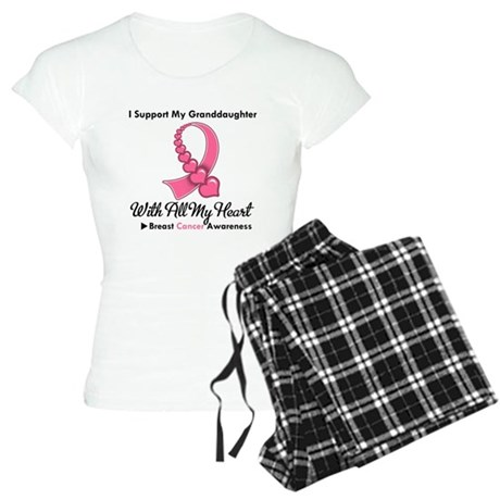 BreastCancerGranddaughter Women's Light Pajamas