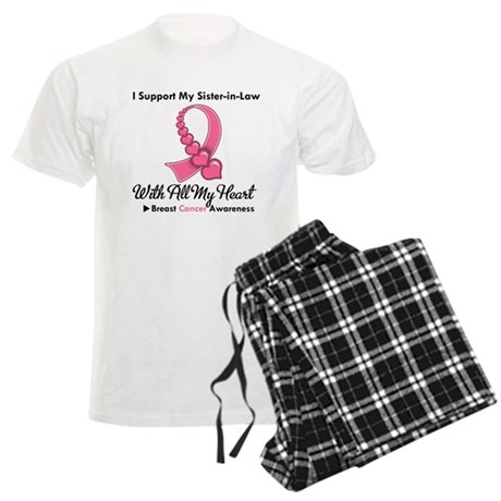 BreastCancerSister-in-Law Men's Light Pajamas