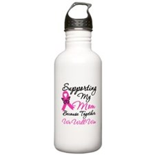 Breast Cancer Support Mom Water Bottle