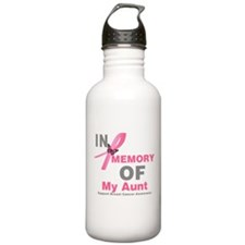 BreastCancerMemoryAunt Water Bottle