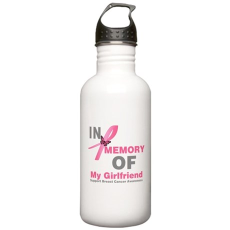 BreastCancerMemoryWife Stainless Water Bottle 1.0L