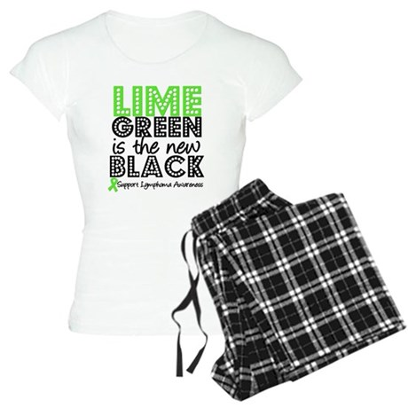 Lymphoma New Black Women's Light Pajamas