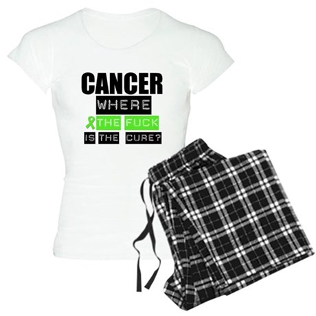 Cancer Cure Lymphoma Women's Light Pajamas