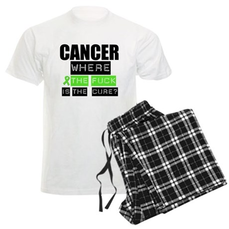 Cancer Cure Lymphoma Men's Light Pajamas