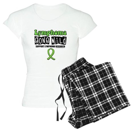 Lymphoma Gone Wild Women's Light Pajamas