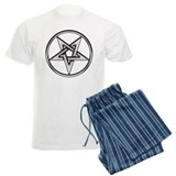 Inverted Silver Pentacle pajamas