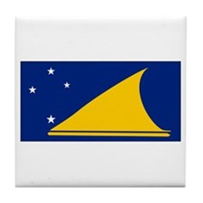 Tokelau Flag Tile Coaster