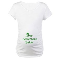 Little Leprechaun inside Shirt