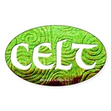 Celt Euro Oval Decal