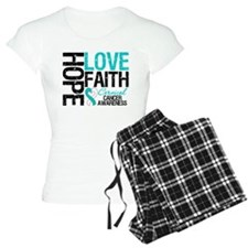Cervical Cancer FAITH Pajamas