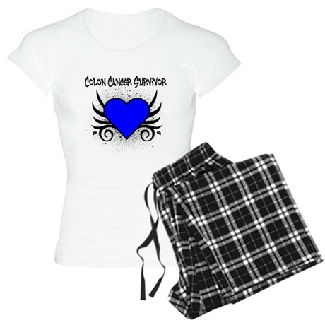 Colon Cancer Survivor Women's Light Pajamas