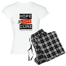 Melanoma HopeLoveCure Pajamas