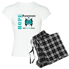 Ovarian Cancer Butterfly Pajamas