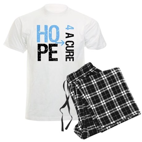 Hope Cure Prostate Cancer Men's Light Pajamas
