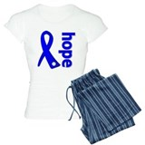 Hope Ribbon Colon Cancer Pajamas