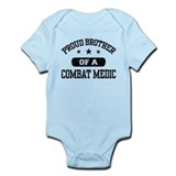 Proud Combat Medic Brother Onesie