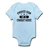 Proud Combat Medic Son  Baby Onesie