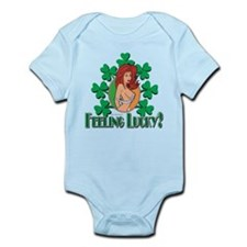 Feeling Lucky Irish Girl Infant Bodysuit