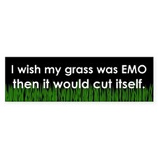 Emo Bumper Sticker