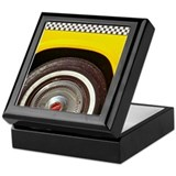 Checker Cab No. 5 Keepsake Box