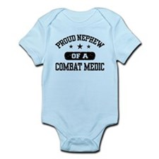 Proud Combat Medic Nephew Infant Bodysuit
