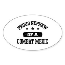 Proud Combat Medic Nephew Decal