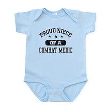 Proud Niece of a Combat Medic Infant Bodysuit