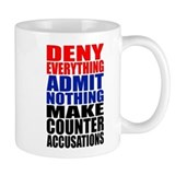 Deny Everything Small Mug