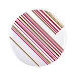 "Retro Stripe 3.5"" Button (100 Pk)"