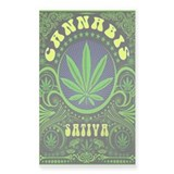 CANNABIS SATIVA Decal