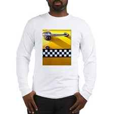 Checker Cab No. 8 Long Sleeve T-Shirt