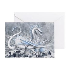 White Dragon Mother's Day Card
