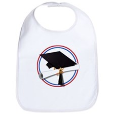 Cute College grad Bib