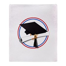 Cute Masters degree Throw Blanket