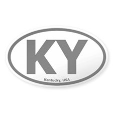 Kentucky Oval Decal