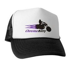 Biker Girl Trucker Hat