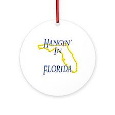 Hangin' in FL Ornament (Round)