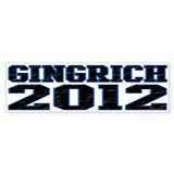 Gingrich 2012 Bumper Sticker