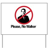 Cute Scott walker Yard Sign