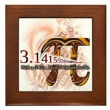 PI Day - Framed Tile