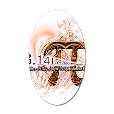 PI Day - 38.5 x 24.5 Oval Wall Peel