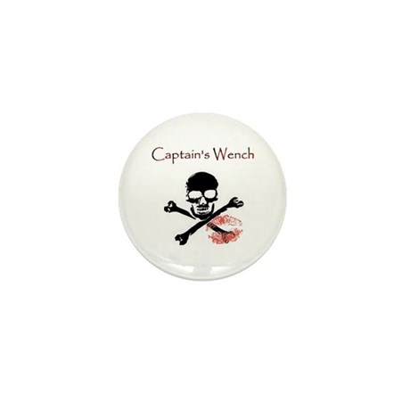 Mini Button (10 pack) Captain's wench