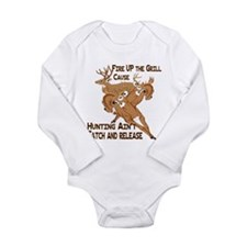 Fire Up the Grill Long Sleeve Infant Bodysuit