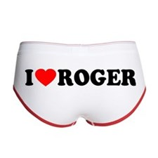 I (Heart) Roger Women's Boy Brief