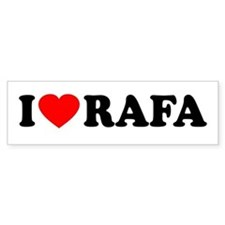I (Heart) Rafa Bumper Sticker