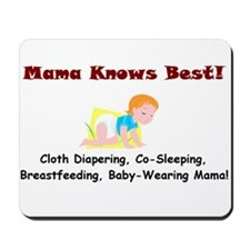Attached Mama Mousepad