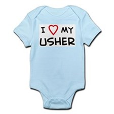 I Love Usher Infant Creeper