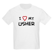 I Love Usher Kids T-Shirt