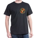 """1 Anti-Terrorist Unit"" - Black T-Shirt"